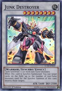YuGiOh! TCG karta: Junk Destroyer