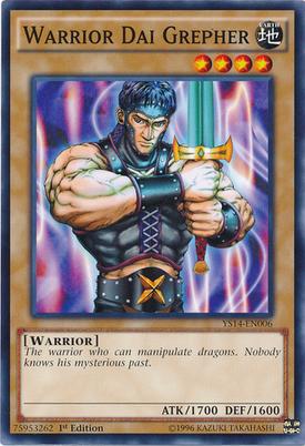 Warrior Dai Grepher YS14