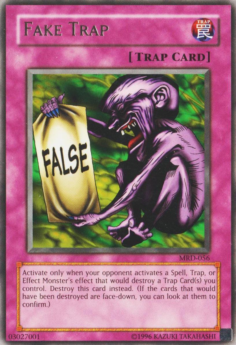 fake trap yu gi oh fandom powered by wikia