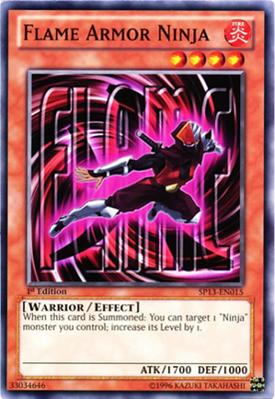 Flame Armor Ninja SP13