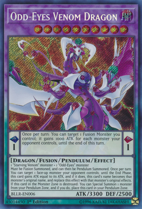 Odd eyes venom dragon yu gi oh fandom powered by wikia - Drago veleno occhi diversi ...