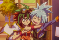 Yuya and Sora