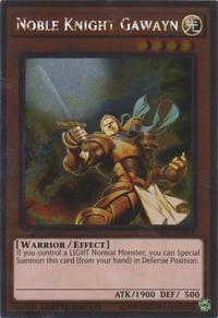 YuGiOh! TCG karta: Noble Knight Gawayn