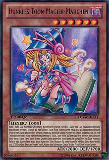 Dunkles Toon-Magier-Mädchen