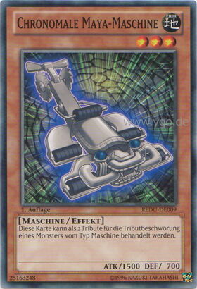 Chronomale Maya-Maschine - REDU-DE009