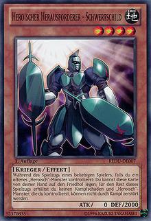 Heroischer Herausforderer - Schwertschild - REDU-DE007