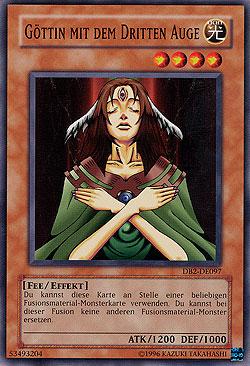 Göttin mit dem dritten Auge