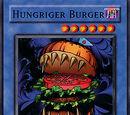Hungriger Burger