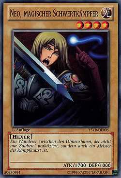 Neo, Magischer Schwertkämpfer