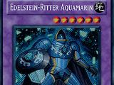 Edelstein-Ritter Aquamarin