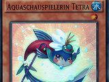 Aquaschauspielerin Tetra