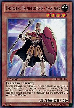Heroischer Herausforderer - Spartaner - REDU-DE005