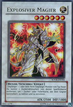 Explosiver Magier