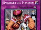 Bauchweh des Tyrannen