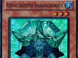 Kristallungeheuer Smaragdschildkröte