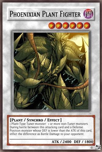 Phoenixian Plant Fighter