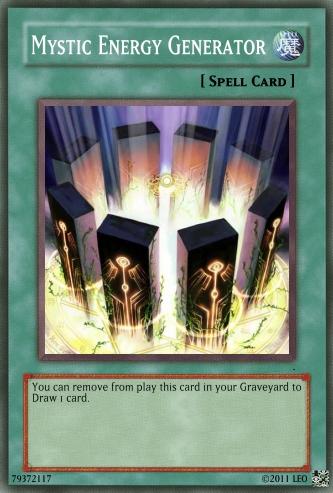 Mystic Energy Generator