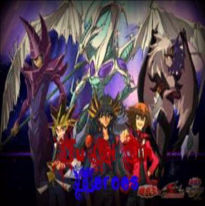 Yugioh heroes logo