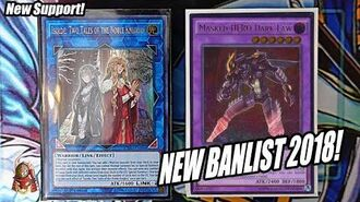 *YUGIOH* BEST! MASKED HERO DECK PROFILE! NEW FEBRUARY 5th, 2018 BANLIST COMBO! (NEW SUPPORT)