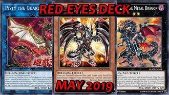 YGO PRO Red Eyes Guardragon Deck TCG Legal - May 2019