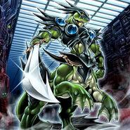 Foto soldado de asalto alienígena