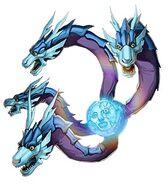 Dragón de la Luna Quilla Duel Links