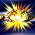 Foto ataque doble flanqueado