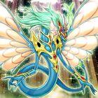 Foto dragón hada antiguo