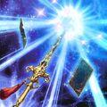 Foto espada sagrada de las siete estrellas