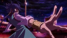 Aigami en duelo