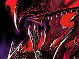 Dragón Negro Alternativo de Ojos Rojos