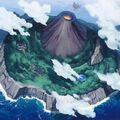 Foto isla del rey de fuego