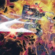 Foto explosión del caballerígneo