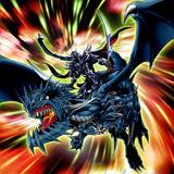 Foto hoja oscura el caballero dragón