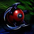 Foto esfera explosiva