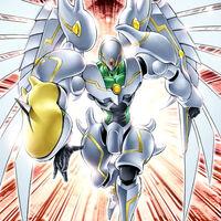 Foto héroe elemental shining flare wingman