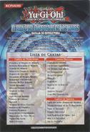 Lista baraja estructura el reino del emperador de los mares