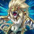 Foto bestia heráldica leo