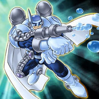 Foto héroe elemental bubbleman