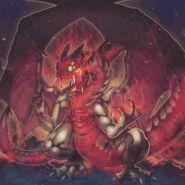 Foto dragón desenmascarado