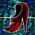 Foto zapatos del mordisco