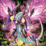 Foto dragón de fusión codicioso venenoso