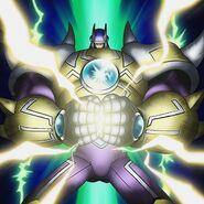 HÉROE Elemental del Trueno Gigante (ilustración anime)