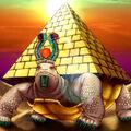 Foto tortuga pirámide
