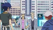 Yusaku, Ryoken, Espectro y Takeru