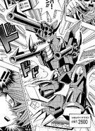 Dragón Cañón en el Manga