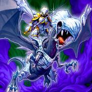 Foto paladín del dragón maldito