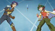 Shinji contra Yuya
