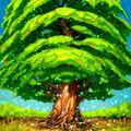Foto el árbol del mundo