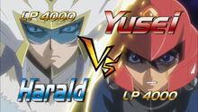 5Dx127 Harald VS Yusei